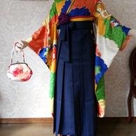 HA-3 レトロモダン着物&袴レンタル